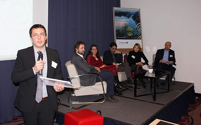 Řečníci panelové diskuse, foto: Zbyněk Stein