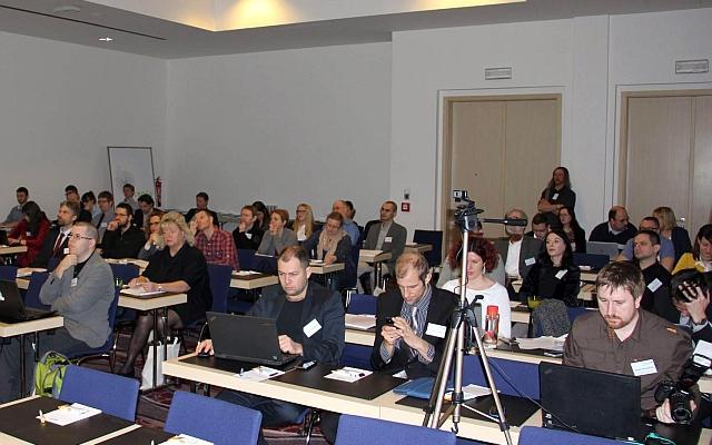 Účastníci prvního dne konference, foto: Zbyněk Stein