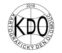 Logo 12. ročníku odborného semináře Kartografický den Olomouc