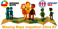 Registrace na Missing Maps mapathon Žilina #3