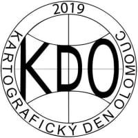 Logo 13. ročníku odborného semináře Kartografický den Olomouc