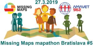 Registrace na 5. bratislavský Missing Maps mapathon