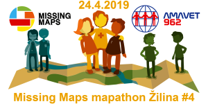 Registrace na Missing Maps mapathon Žilina #4