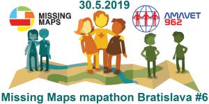 Registrace na Missing Maps mapathon Bratislava #6
