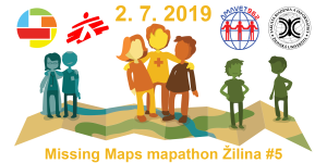 Registrace na Missing Maps mapathon Žilina #5