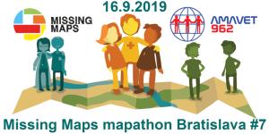 Registrace na 7. bratislavský Missing Maps mapathon
