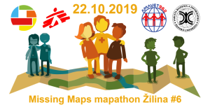 Registrace na Missing Maps mapathon Žilina #6