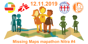 Registrace na Missing Maps mapathon Nitra #4