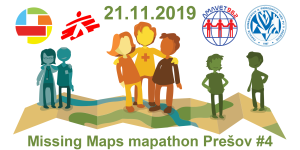 Registrace na Missing Maps mapathon Prešov #4
