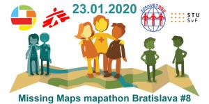 Registrace na Missing Maps mapathon Bratislava #8