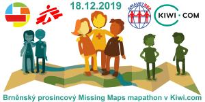 Registrace na brněnský prosincový Missing Maps mapathon v Kiwi.com