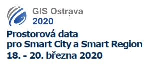 Registrace na sympozium GIS Ostrava 2020