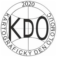 Logo 14. ročníku odborného semináře Kartografický den Olomouc