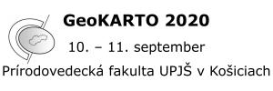 Mediálně podporujeme mezinárodní vědeckou konferenci GeoKARTO 2020