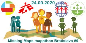 Registrace na Missing Maps mapathon Bratislava #9