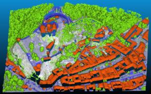 Crowdfundingová kampaň pro vytvoření mapové vrstvy mračna bodů v QGIS