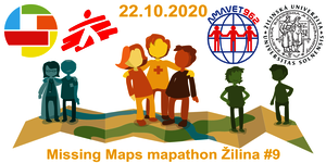 Registrace na Missing Maps mapathon Žilina #9