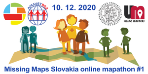 Registrace na Missing Maps Slovakia online mapathon #1