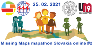 Registrace na Missing Maps mapathon Slovakia online #2