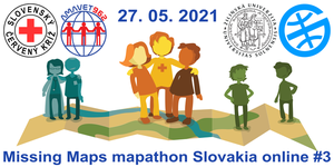Registrace na Missing Maps mapathon Slovakia online #3