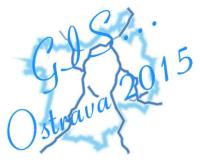 Logo sympozia GIS Ostrava 2015